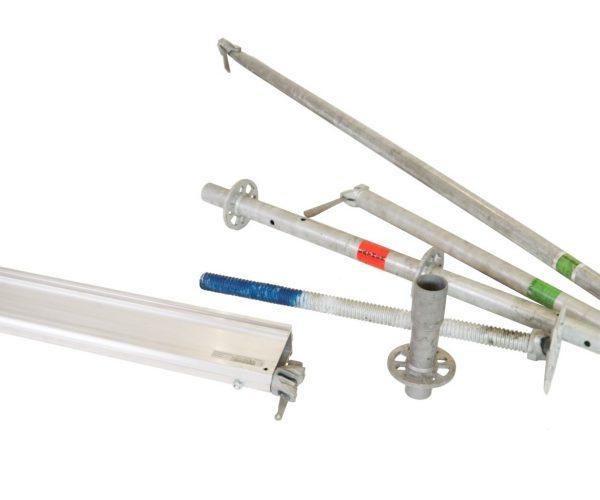 nivtec 2.7 Layher Stahl Unterkonstruktion bis 2m